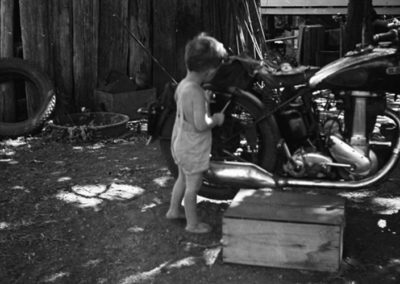 Me Fixing Uncle Vern's Motorbike Reduce